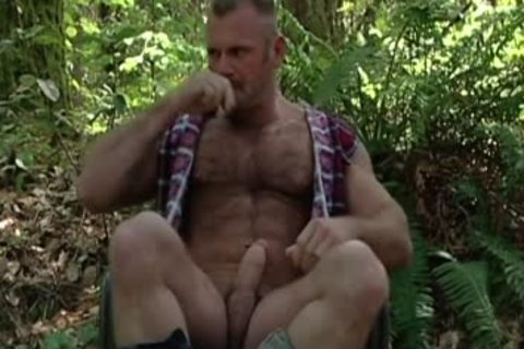 Manly men sucking cock Outside