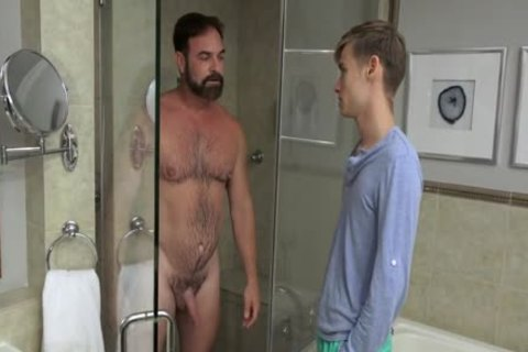 chap bonks twink nude In The Shower And In daybed