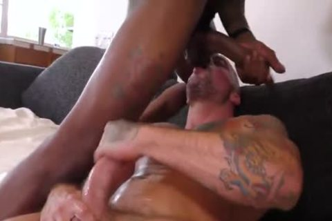Sean Duran acquire pounded By Ray Diesel And unfathomable Dicc