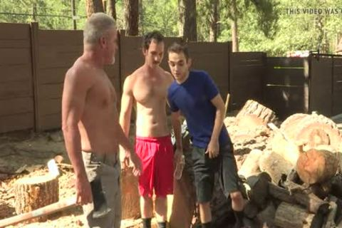 excited twink bonks His brawny Stepgrandpa And Stepdad