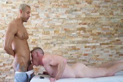 Seth Santoro & Nick Fitt - filthy Stone Massage