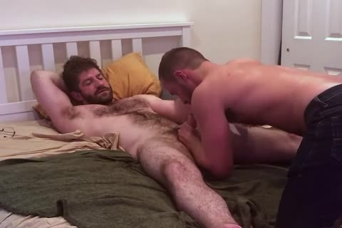 VERBAL bushy dad TELLS HOOKUP that man'S going to NUT INSIDE