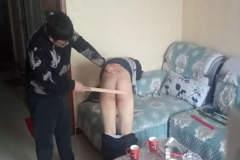 messy chap Came During His spanking