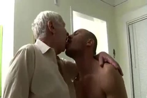 attractive old guy & Younger Having Sex