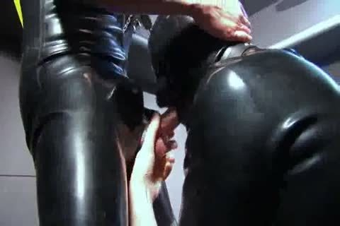 sucking And fucking In Rubber