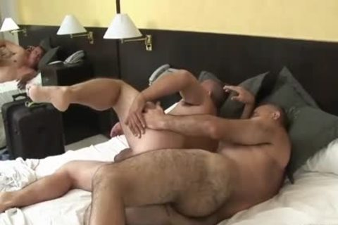 enjoyable Latin older Daddy Sucks & gets hammered By hairy older dude