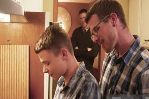 dirty teen Barebacked By Two Daddys