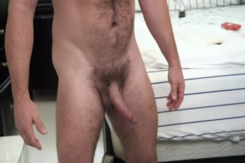 hairy Stepdad gets His dong Sucked By Son