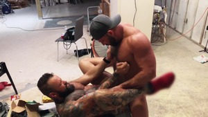 Pup & Tank poke raw All Over A Construction web page - American Hook up