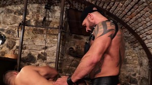 dirty Muscle Sub - Bruno Turbo ass Licking Scene