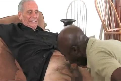 mature darksome Daddy And Three White old man's, One admirable Time