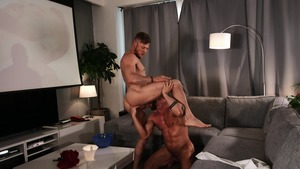 large Screen Narcissus: bare - Matt Anders and Tyler Berg wazoo Licking Love