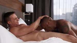 GodsOfMen - Ace Quinn anal interracial in the bed