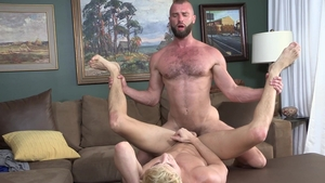 FamilyDick.com - Young twink Taylor Reign foot teasing scene