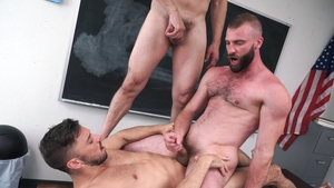 Family Dick - Max Sargent blowjob cum video