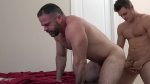 Family Dick - Very hawt Bishop Angus butt pounded striptease