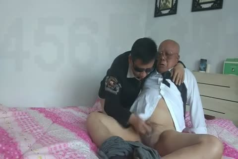 young Chinese Sucks & nails His grandad friend