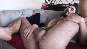 LatinLeche.com - Naked roommate craving facial