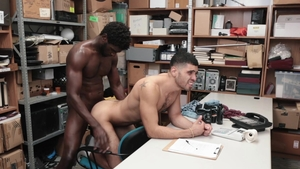 YoungPerps: Officer Devin Trez pounded by latino Angel Duran