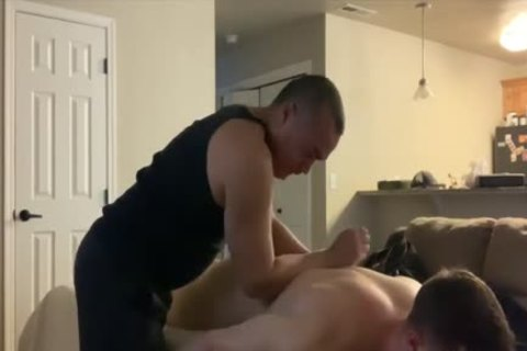man Do Massage To fresh man And fuck It After
