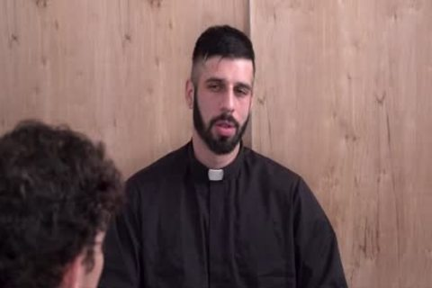 Sinful man Punished By yummy Priest