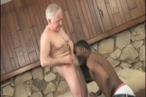 darksome chap Sucks & fucks old Daddy