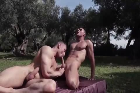 Landon And Javi Sex On The Garden