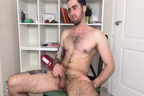 Bushy And pumped up Russian Males Alex Discharges A humongous Load