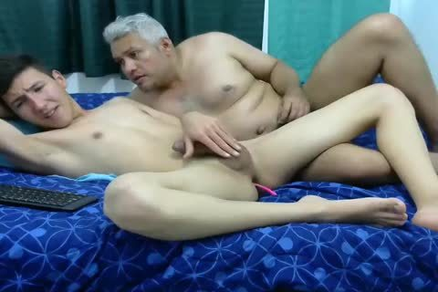daddy Vs young Have butthole fucking On webcam