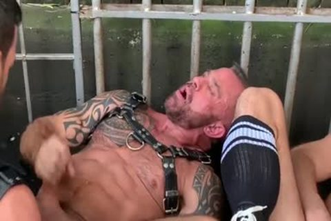 Leather Gear bunch fuck