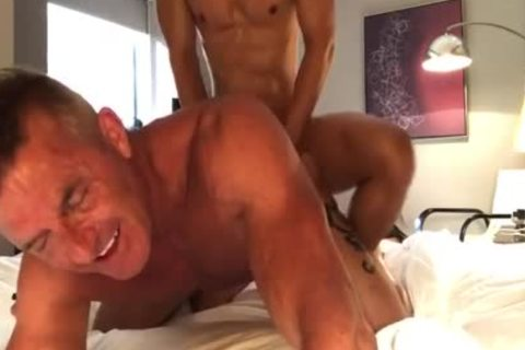 Daddy likes Oriental dick