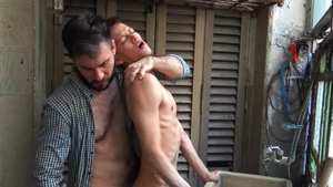 Realitydudes.com: Bareback plowing hard with Andres plus Diego