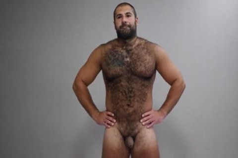 filthy beefy hairy Russian