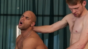 DrillMyHole.com: Hard sex with Calhoun Sawyer & Sean Zevran