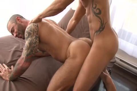 Alexy Tyler plows Tattooed Muscle chap Junior Stellano Scene From butthole opening