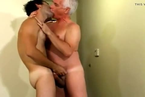 yummy youthful lad With old man