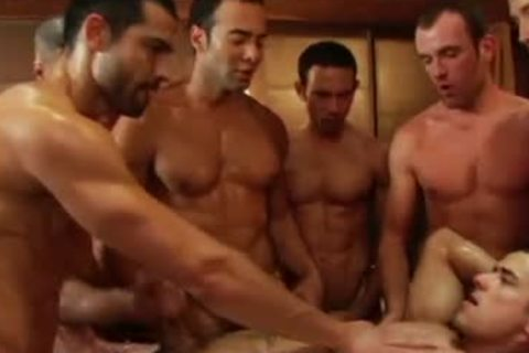 SEX homosexual video gang gangbang fuckfest By GrzeGoRzUni1988