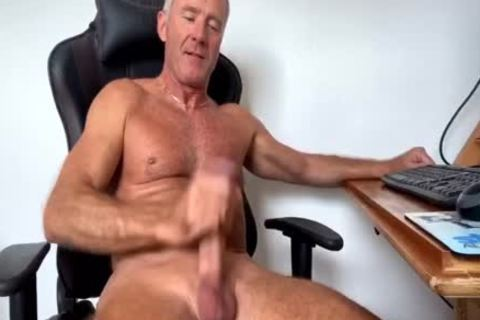 Dream Dilf Play With His massive Uncut German cock (no sperm)