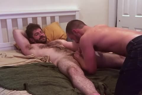 Verbal hairy daddy Tells Hookup he's gonna Nut Inside