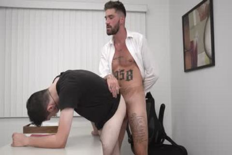 Stepson slammed Hard Fo Bothering Daddy