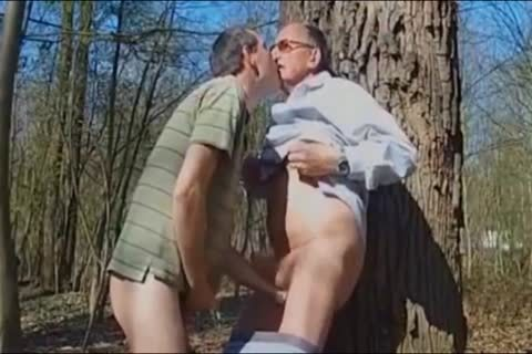 DADDY fucking older man IN THE WOODS 3