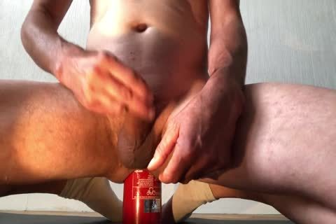 bewitching Insertion extreme Bottle anal With sex cream flow