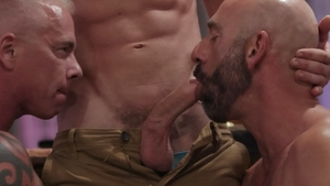 IconMale.com - Link Parker among Ryan Carter ass licking