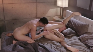 IconMale.com - Super slim Zak Bishop goes in for cock sucking