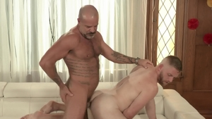 IconMale: Scott Riley with Jack Dyer masturbating