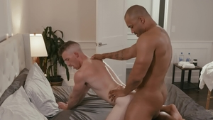 NoirMale - Gay Nick Fitt anal interracial