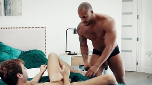 Noir Male - Jason Vario and Max Adonis masturbation