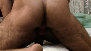 IconMale.com - Hairy and muscle Brendan Patrick rimjob