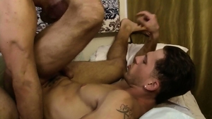 IconMale - Muscle Max Sargent showing huge penis