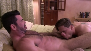 IconMale.com - Hard ramming with Billy Santoro and Roman Todd
